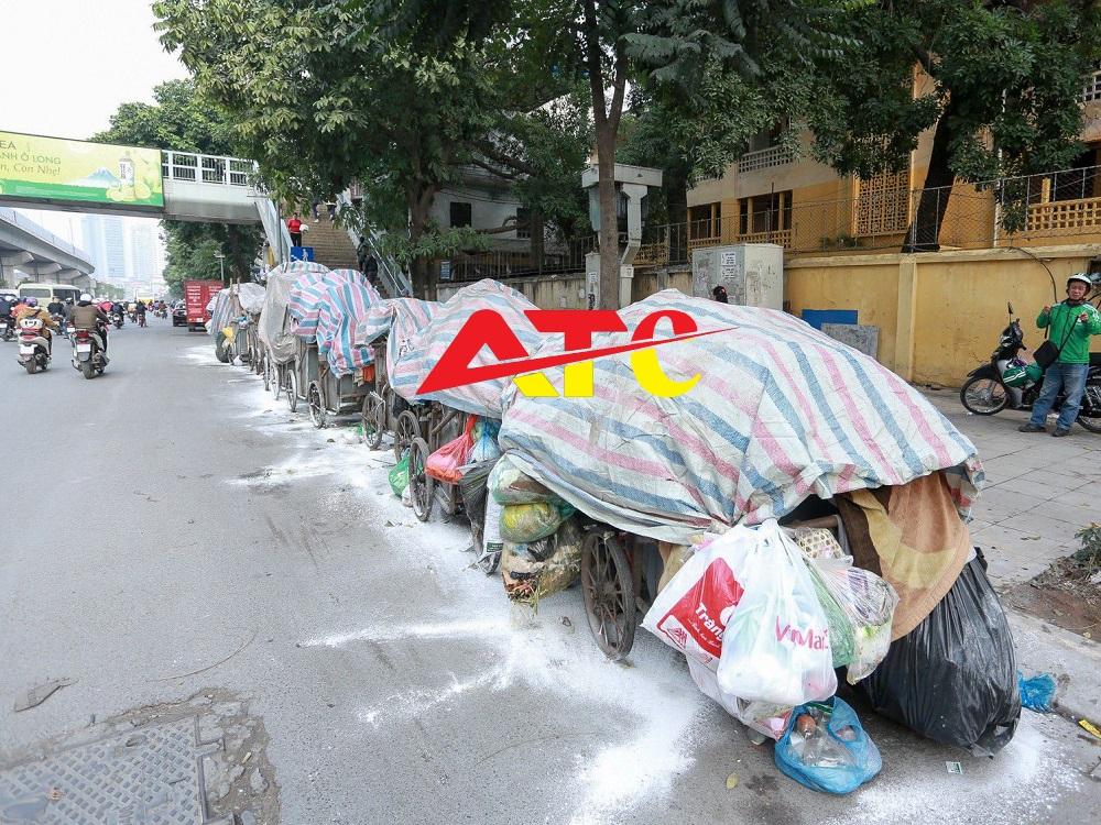 vôi bột xử lý rác thải tại Hà Nội