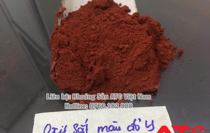 bột màu oxit sắt đỏ Y