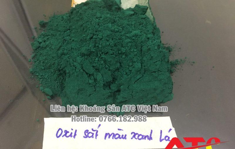 bột màu oxit sắt xanh