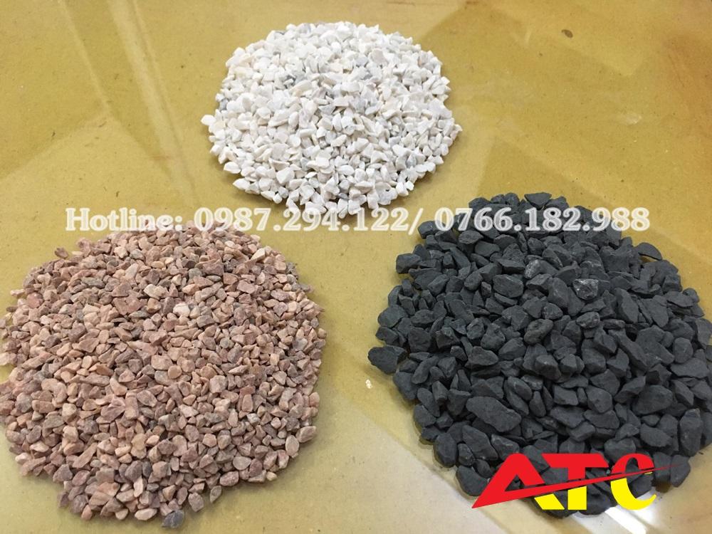 đá hạt sản xuất gạch terrazzo