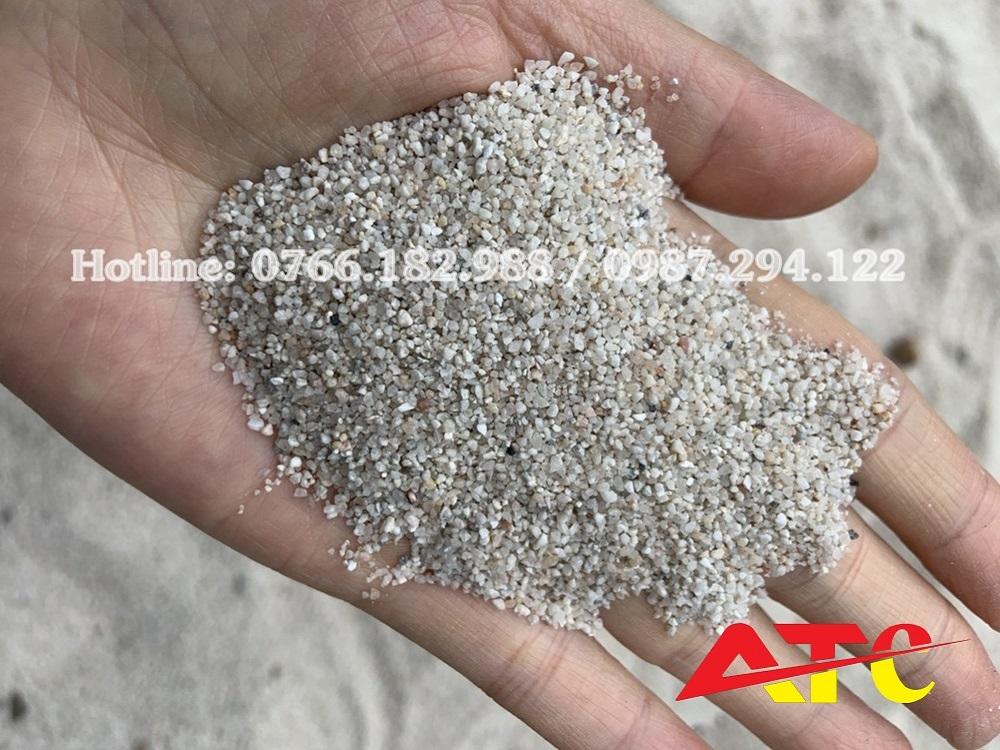 cát thạch anh
