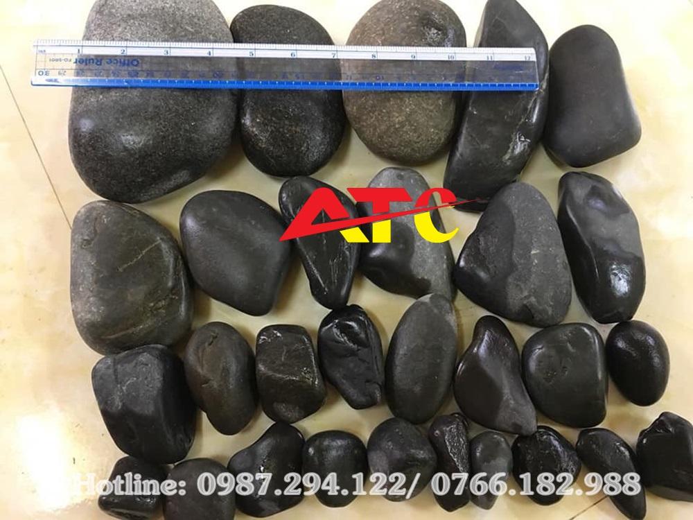 bán đá cuội đen