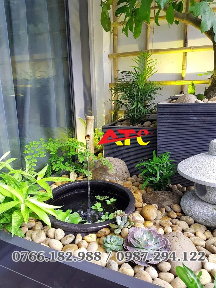bán đá trang trí sân vườn