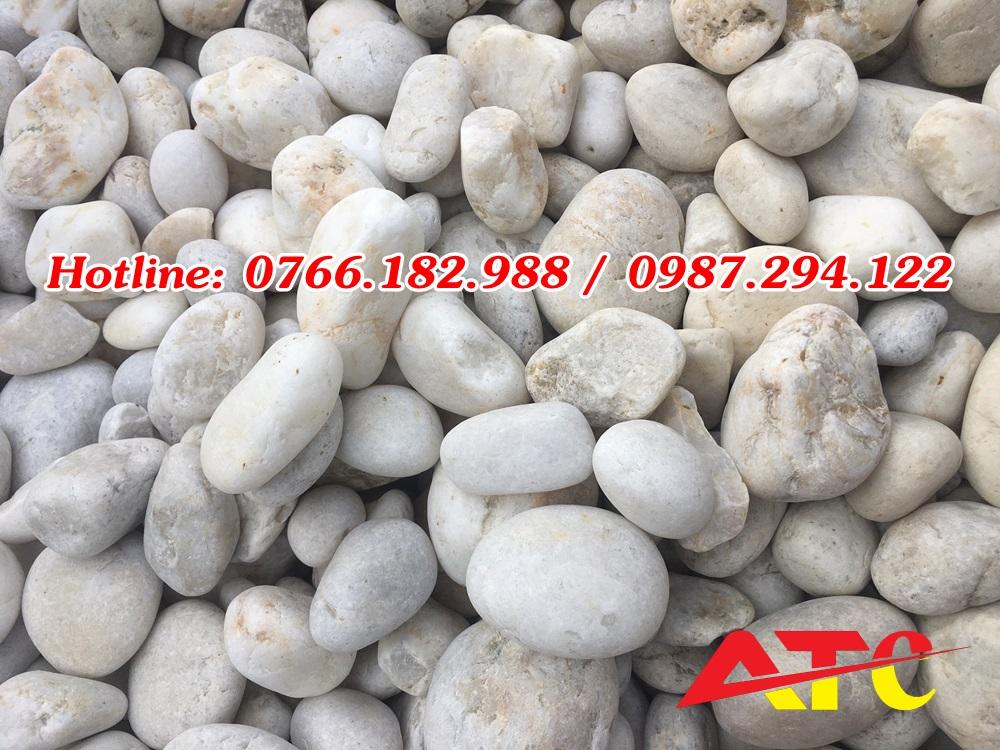 bán đá cuội trắng tự nhiên