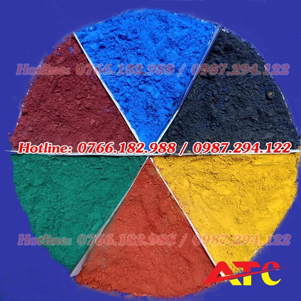 bán bột màu oxit sắt
