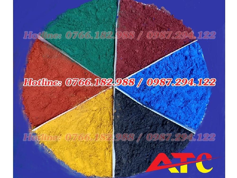 bột màu trong sản xuất phân bón