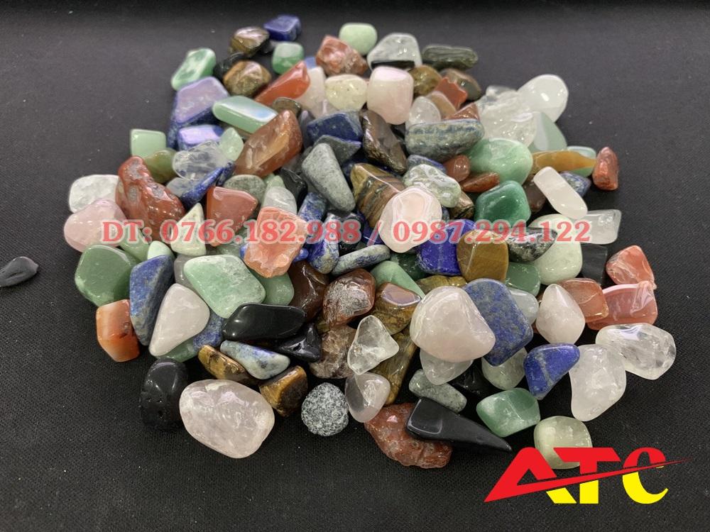 đá thạch anh ngũ sắc