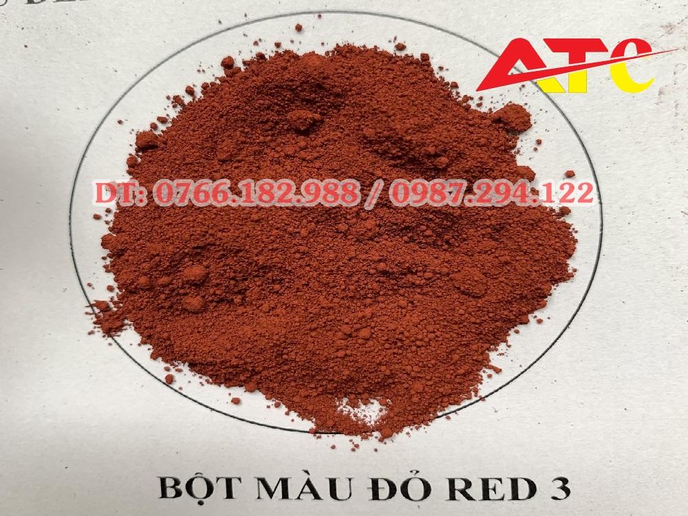 bột màu đỏ hàn quốc red3