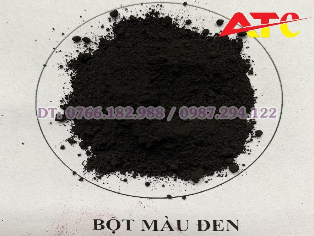 bột màu đen oxit sắt