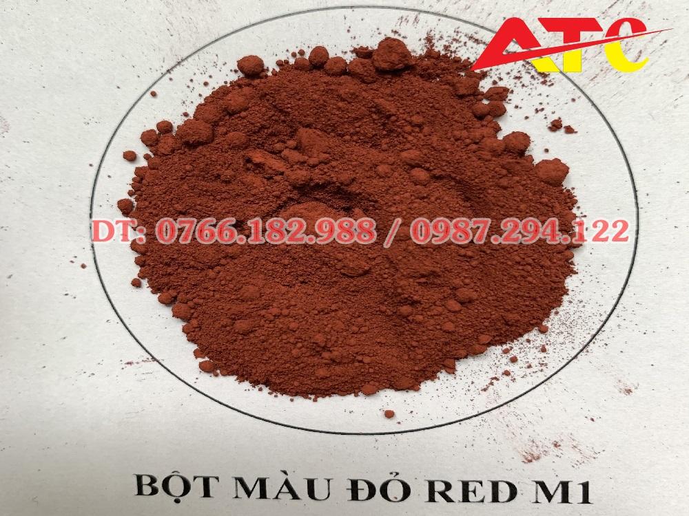 bột màu đỏ red m1