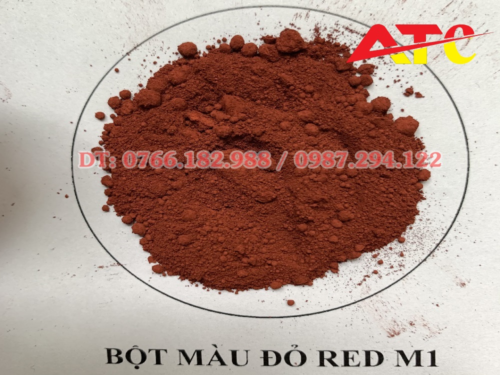 bột màu đỏ red M1 Hàn Quốc