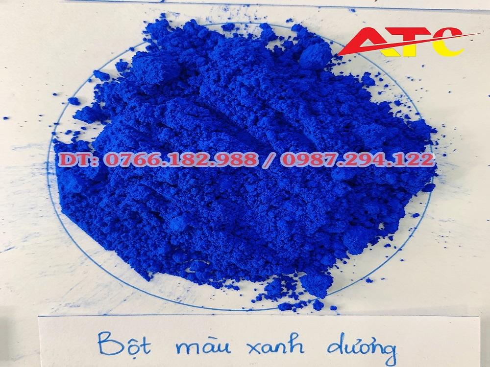 bán bột màu xanh dương