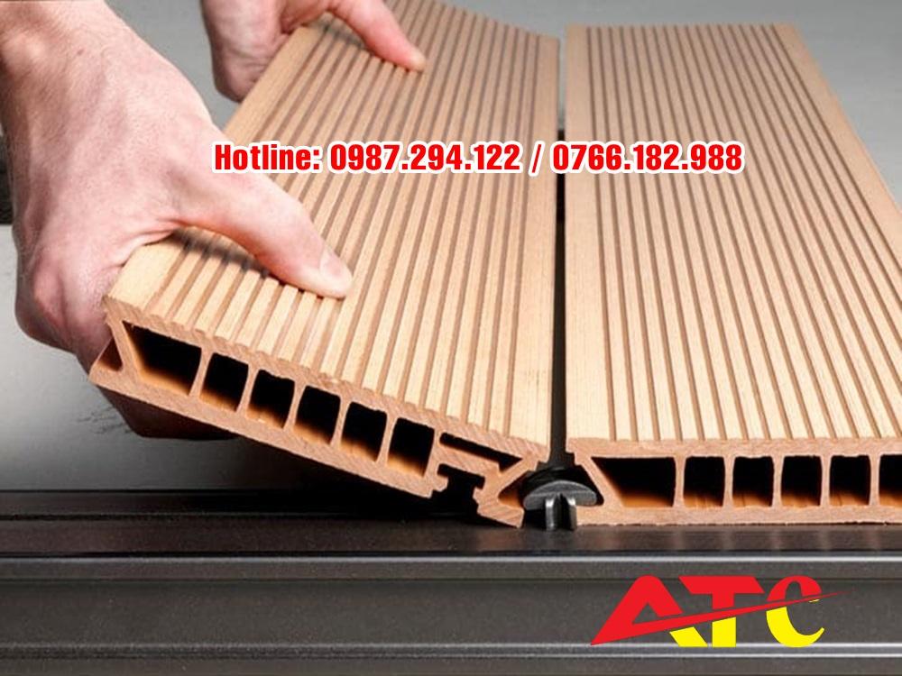 bột đá sản xuất gỗ nhựa composite