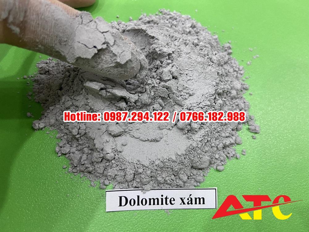 bột dolomite nuôi ốc nhồi